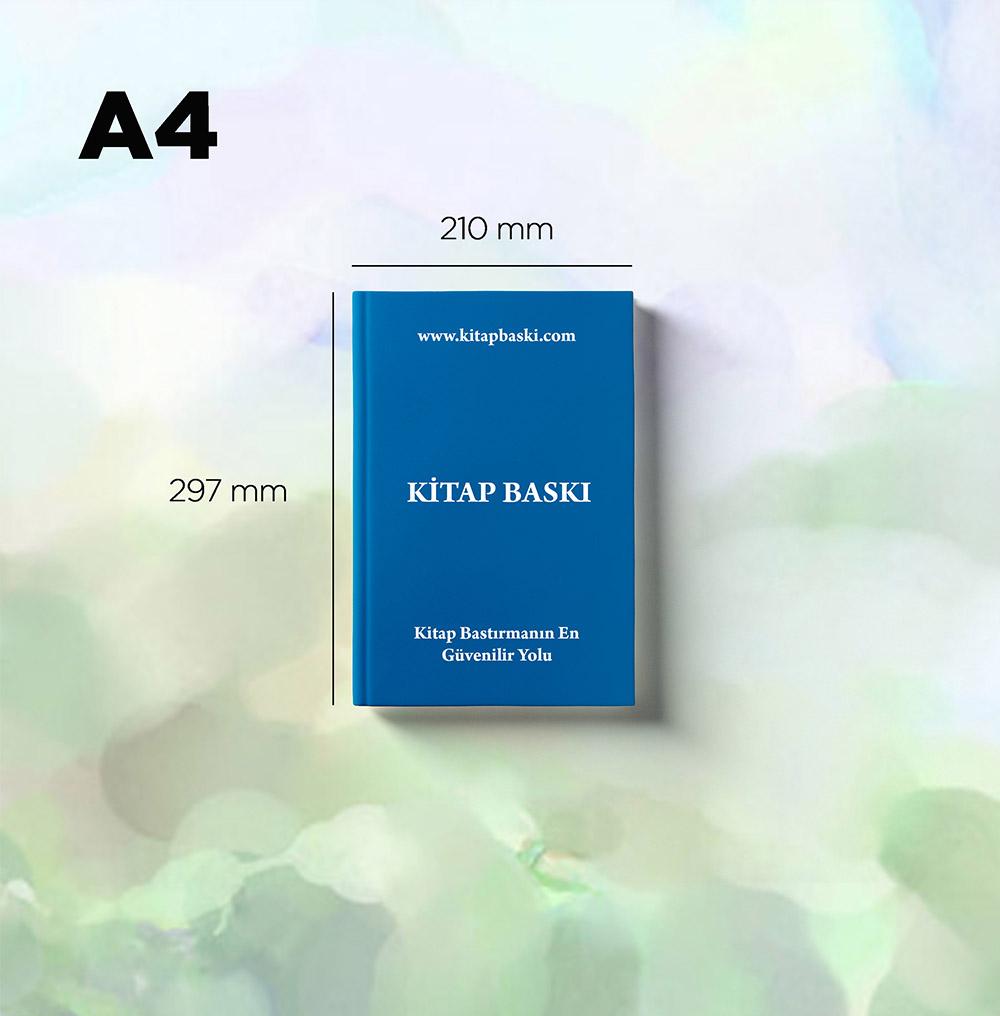 Kitap – A4 (Siyah-Beyaz, 100 adet, 100 sayfa)